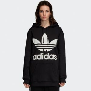 Adidas trefoil oversized hoodie MENS SIZE MED